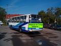 Reklama na autobusie Autosan - tył autobusu